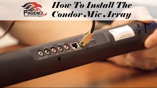 How To Install The Condor Mic Array | Phoenix Audio Technologies