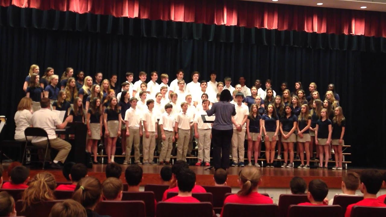 St  Luke's MS Mixed Choir at the Trills & Thrills Competition