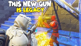 Il a NEW LEGACY GUN dans Item STORE 😱 (Scammer Gets Scammed) Fortnite Save The World