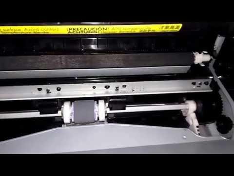 Falla HP LaserJet P1005