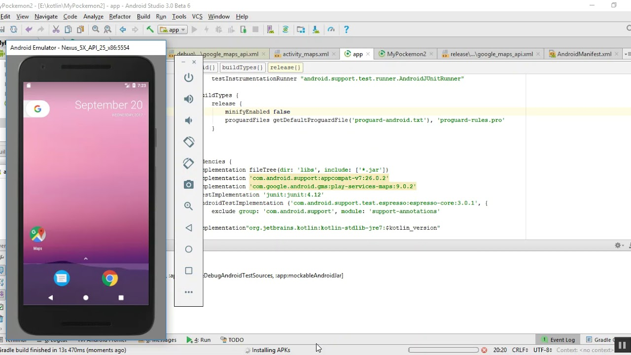 You need to update your Google play services in Emulator