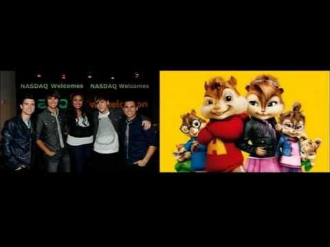 Big Time Rush ft. Jordin Sparks Count on You Chipmunks version