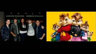 Big Time Rush ft. Jordin Sparks Count on You Chipmunks version