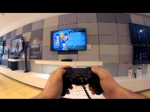First Day of PS4 Demo Kiosks at Stanford Shopping Center