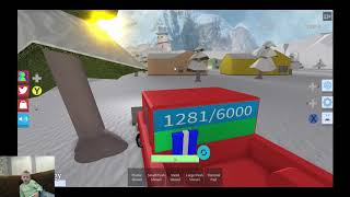 CarterPlayer08: Snow Shoveling Simulator in Roblox on Xbox One