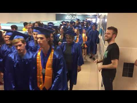 South Lakes High School 2018 graduates parade