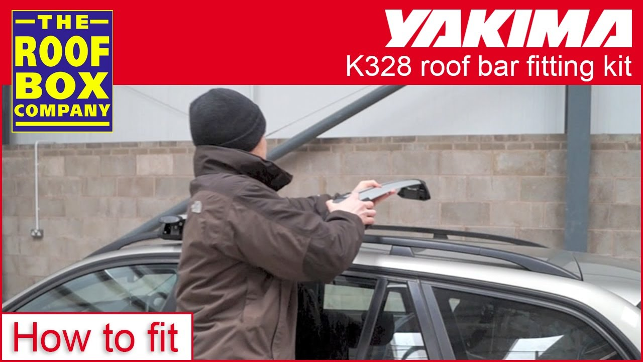 Whispbar Roof Bars K328 Smartfoot Amp Through Bars On