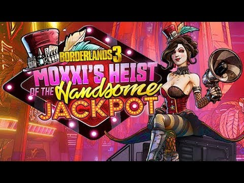 Borderlands 3 DLC Moxxi's Heist of the Handsome Jackpot All Cutscenes (Game Movie) 1080p