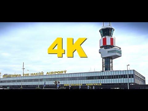 4K (Ultra HD) Rotterdam The Hague Airport