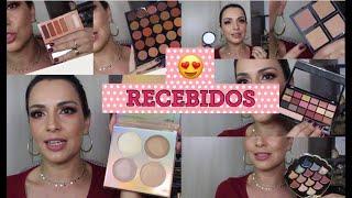 RECEBIDOS - Tarte, Maybelline, Ruby Rose, Morphe, Adversa, Belle Angel, Fenzza ❤️