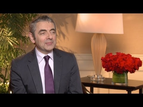 'Johnny English Reborn' Rowan Atkinson Interview HD