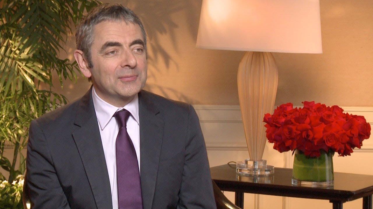 Johnny English Reborn Rowan Atkinson Interview HD - YouTube