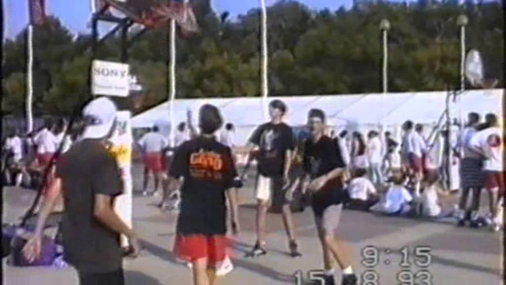 Kosciuszko Aplaudir Memoria  Streetball Berlin 1993 - YouTube