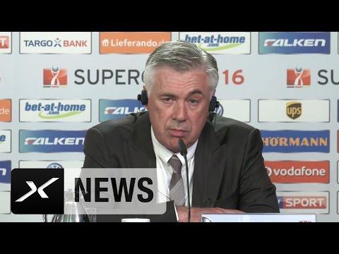 Carlo Ancelotti glücklich über ersten Titel | Borussia Dortmund - FC Bayern München 0:2