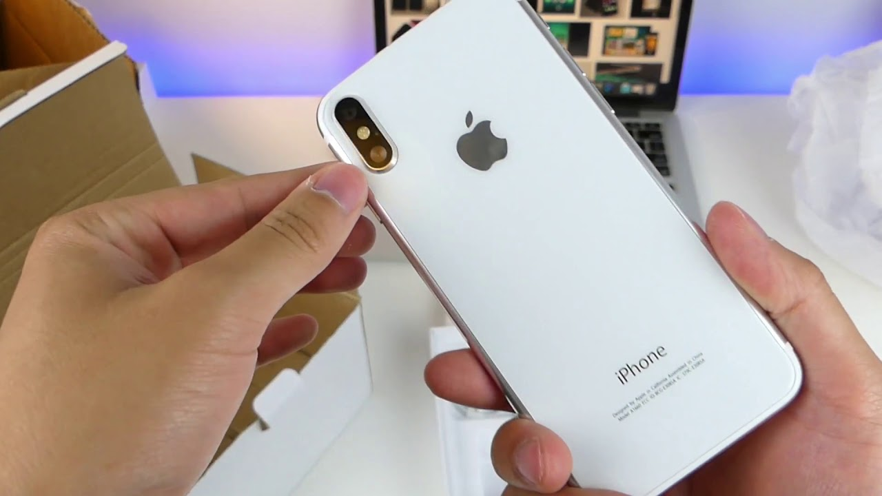 should buy ? iPhone 8 Clone Unboxing White Edition First Look! Review