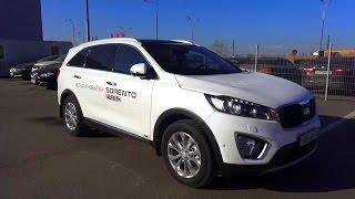 2015 Kia Sorento Prime. Обзор (интерьер, экстерьер, двигатель)