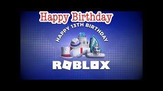 Feliz cumpleaños de Roblox!!!!