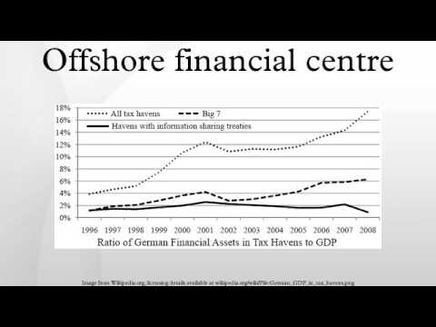 Offshore financial centre