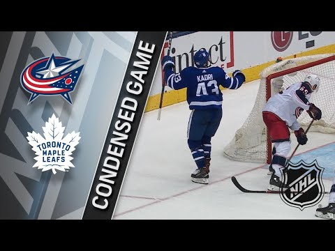 02/14/18 Condensed Game: Blue Jackets @ Maple Leafs