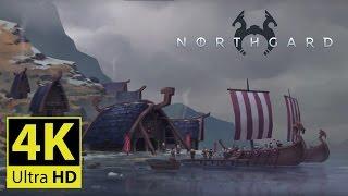 Northgard - 4K GAMEPLAY [Beautiful Viking Real Time Strategy Game]