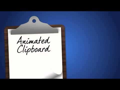 after effects project files animated clipboard with page flip videohive youtube. Black Bedroom Furniture Sets. Home Design Ideas