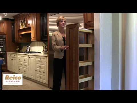 Reico | Pull Out Pantry Storage Kitchen Cabinet Accessories