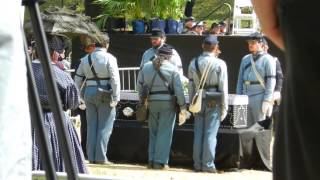 Abraham Lincoln s Coffin - Oak Ridge Cemetery - Funeral Reenactment 2015