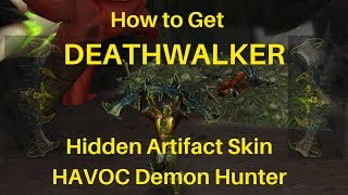 Demon Hunter Hidden Artifact Appearance Skin HAVOC Guide to DEATHWALKER