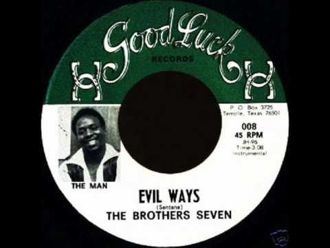 BROTHERS SEVEN  Evil Ways , 1969 , Latin Funk , Deep Funk , Texas