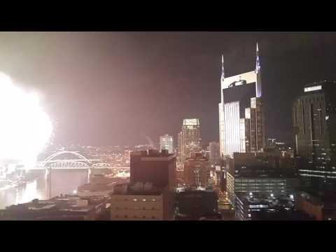2017 Nashville fireworks 9 and grand finale