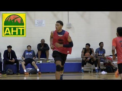 "6'10"" James Banks at Elite Preview (highlights)"