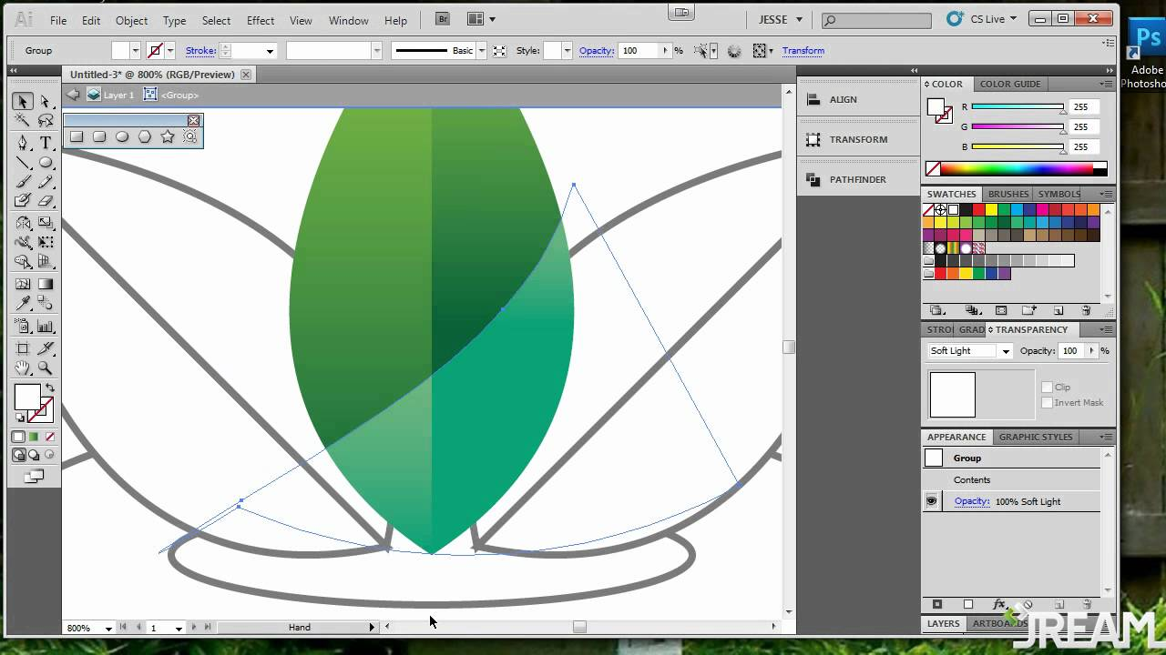 Illustrator Basic Tutorial - Strawberry - YouTube
