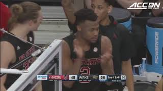 NC State vs. Wake Forest Basketball Highlights (2018-19)