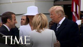 Melania Trumps Massive White Hat Has Caused Quite The Stir  TIME