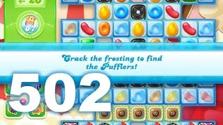 Candy Crush Jelly Saga Level 502 (3 star, No boosters)