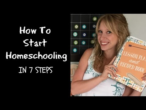 How to Start Homeschooling from Scratch in 7 Steps