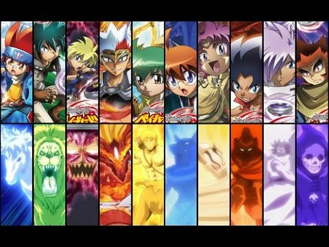 Top 100 Strongest Beyblade Characters (Metal Saga/Originals/Shogun/Burst)