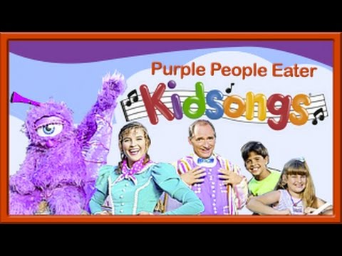 Purple People Eater by Kidsongs | Very Silly Songs | For Kids ! | Kid Songs | PBS Kids | Kids video
