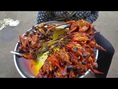 Asian Street Food Tours - Cambodia Street Food At Skun Kampong Cham