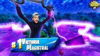 MY FIRST VICTORY IN NEW BALSA BUTTON - Fortnite Battle Royale