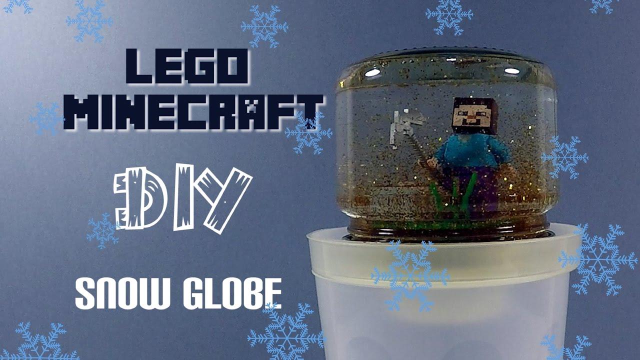 how to make a snowglobe minecraft