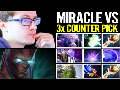 How MIRACLE Terrorblade vs 3x Counter Pick!!! Super Hard Game 7.27 Dota 2 Pro Gameplay from YouTube · Duration:  12 minutes 27 seconds