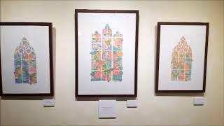2017年5月に開催の個展「不思議の庭と、花と恋と。」のギャラリー内の展示の...