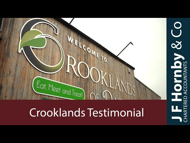 Crooklands of Dalton Testimonial for J F Hornby & Co