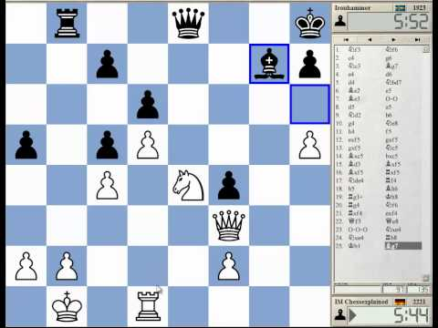 15 Min Chess #48 - Kings Indian Classical