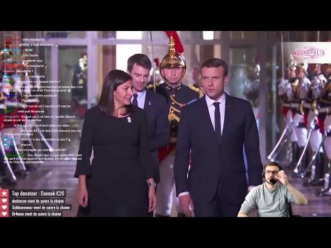 Macron capitale ! [Accueil républicain du nouveau Président à la Mairie de Paris]