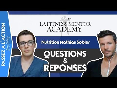 Q/R [FITNESS MENTOR ACADEMY 1 ] Nutrition Mathias Sobler