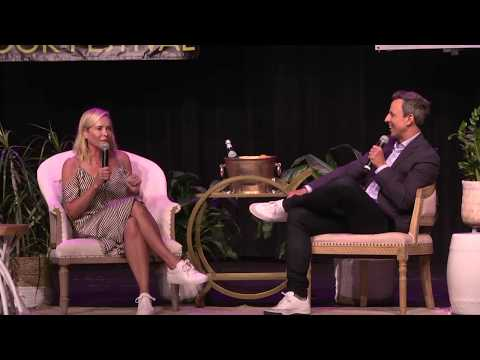 Chelsea Handler and Seth Myers Interview!