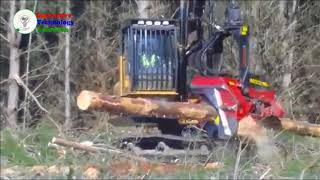 Amazing Tree Cutting Machine Compilation , Amazing Wood Splitter, Awesome Wood Cutting Equipment