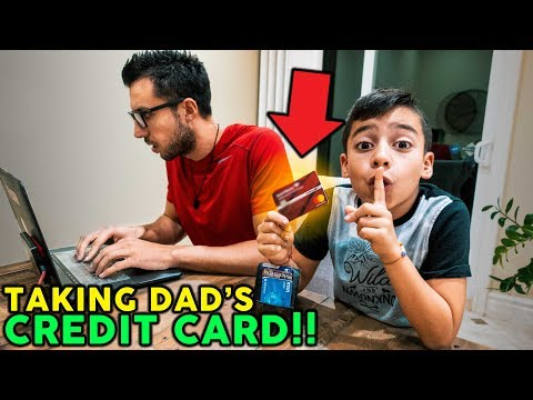 8 YEAR OLD SON TAKES HIS DAD'S CREDIT CARD **BUYS iMAC** | The Royalty Family